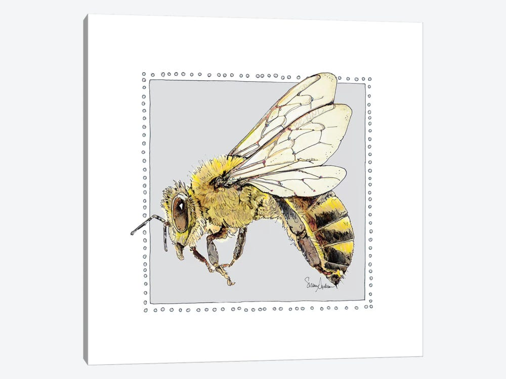 Save Bee Bop by Suzanne Anderson 1-piece Canvas Art