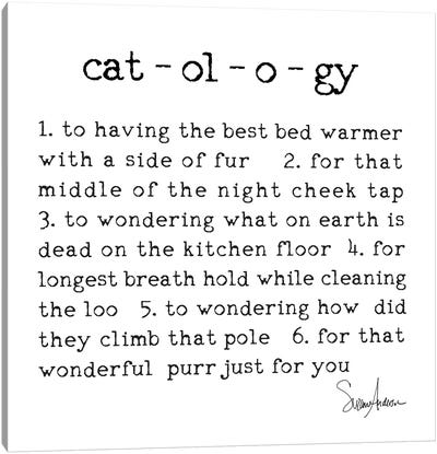 Catology Canvas Art Print