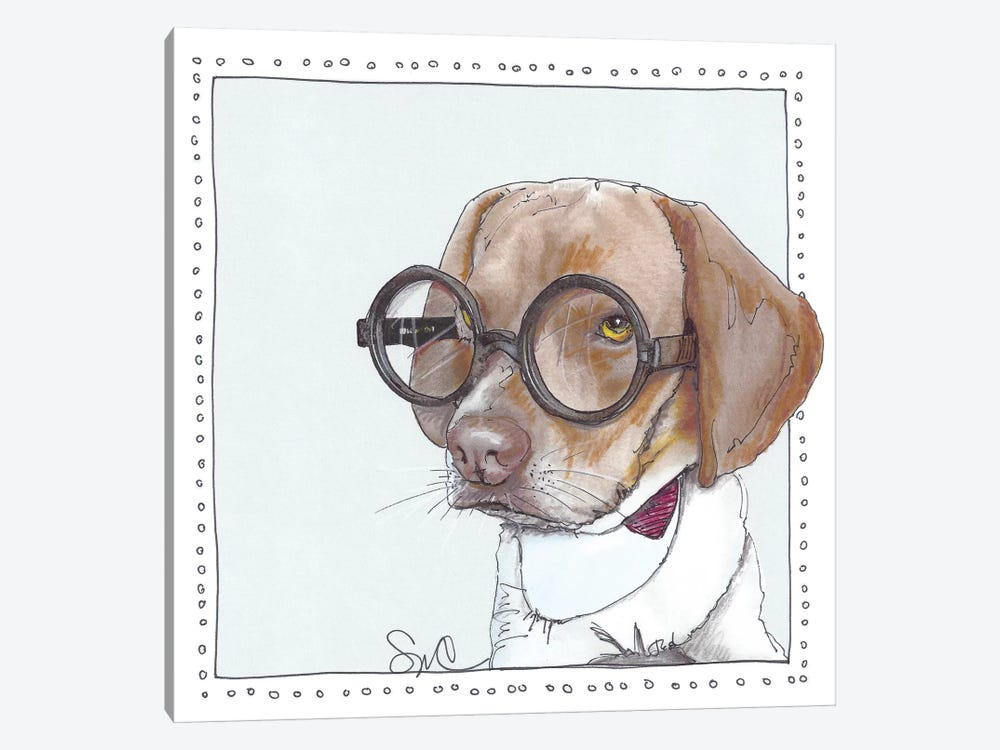 Mr. Peabody by Suzanne Anderson 1-piece Art Print
