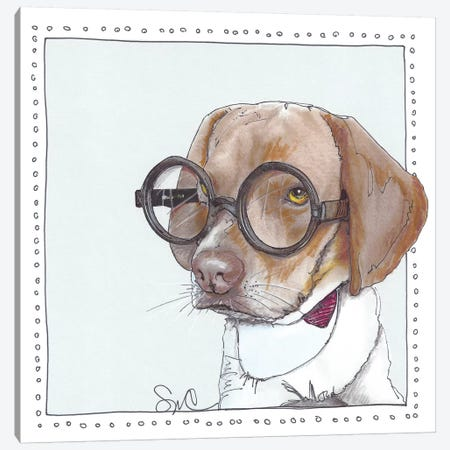 Mr. Peabody 3-Piece Canvas #SUZ7} by Suzanne Anderson Art Print