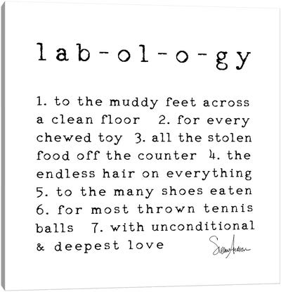 Labology Canvas Art Print