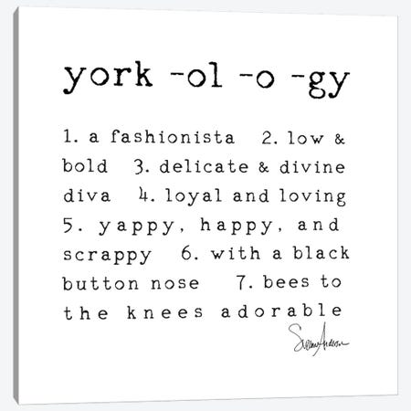 Yorkology Canvas Print #SUZ83} by Suzanne Anderson Canvas Art