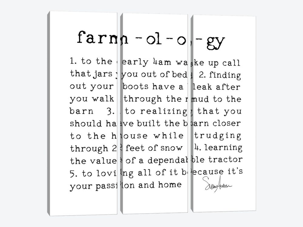 Farmology by Suzanne Anderson 3-piece Canvas Wall Art