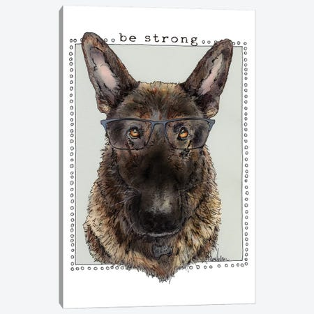 Sampson Be Strong 3-Piece Canvas #SUZ98} by Suzanne Anderson Canvas Art Print