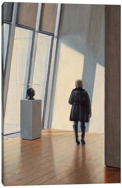 Museum Encounter Canvas Art Print