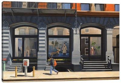 On Howard Street Canvas Art Print