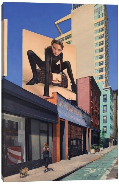 On Grand Street Canvas Art Print