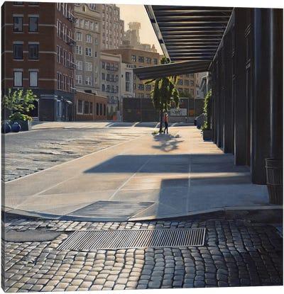 Morning On Gansevoort Canvas Art Print