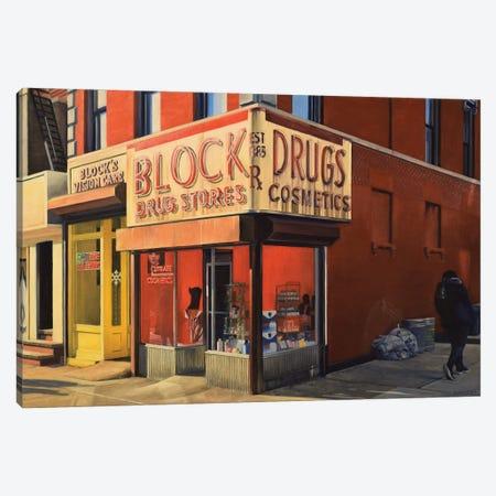 Block Drugs Canvas Print #SVD116} by Nick Savides Canvas Artwork