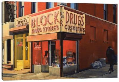 Block Drugs Canvas Art Print