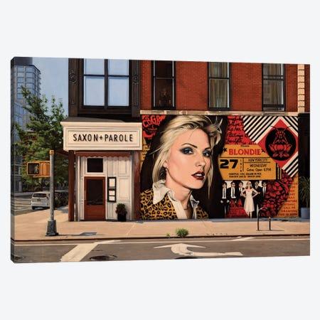 Blondie On Bleecker Canvas Print #SVD117} by Nick Savides Canvas Wall Art