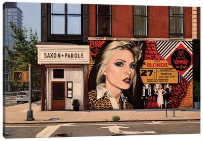 Blondie On Bleecker Canvas Art Print