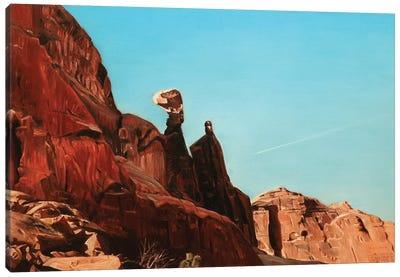 Balancing Rock Canvas Art Print