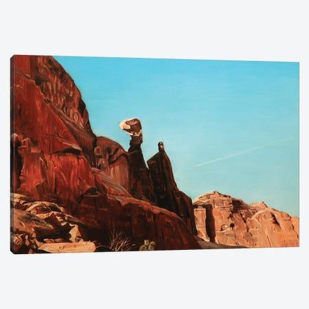 Balancing Rock Canvas Print #SVD11} by Nick Savides Canvas Art Print