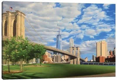 Brooklyn Bridge Park Canvas Art Print