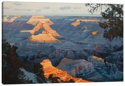 Grand Canyon At Sunrise I Canvas Art Print