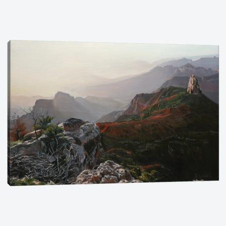 Grand Canyon At Sunrise II Canvas Print #SVD28} by Nick Savides Canvas Wall Art