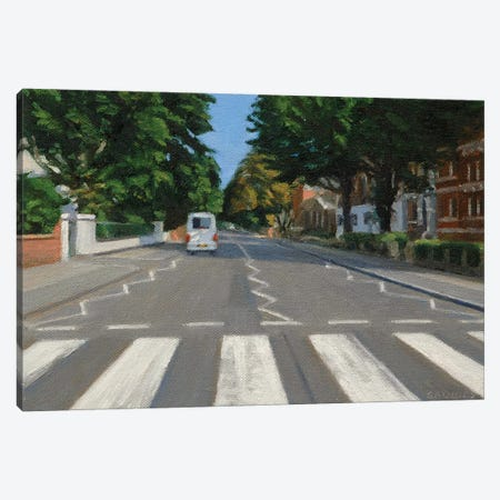 Abbey Road - 2013 Canvas Print #SVD2} by Nick Savides Canvas Artwork
