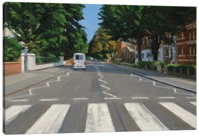 Abbey Road - 2013 Canvas Art Print