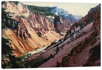 Grand Canyon Of Yellowstone At Sunrise II Canvas Art Print