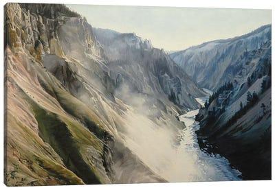Grand Canyon Of Yellowstone At Sunrise III Canvas Art Print
