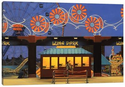 Luna Park Canvas Art Print