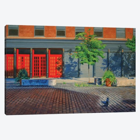 Meatpacking District Canvas Print #SVD45} by Nick Savides Art Print