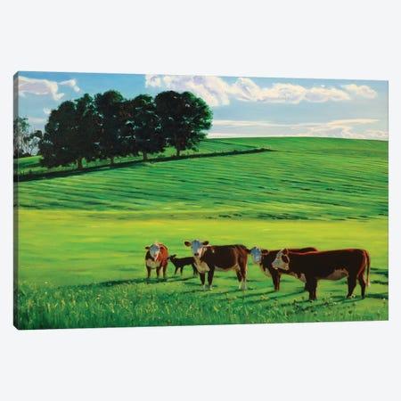Meet The Neighbors Canvas Print #SVD46} by Nick Savides Canvas Art Print