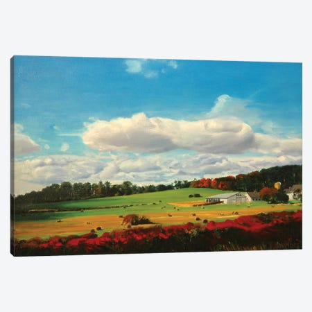 Amberg Farm Canvas Print #SVD4} by Nick Savides Canvas Art Print