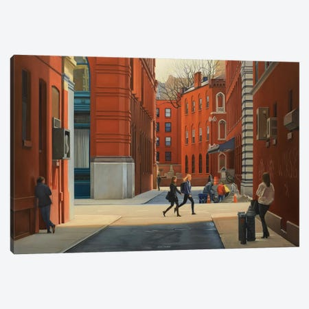 On Jersey Street Canvas Print #SVD53} by Nick Savides Art Print