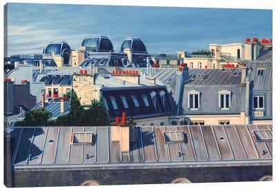Paris Rooftops I Canvas Art Print