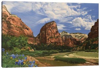 Angels Landing – Zion Canvas Art Print