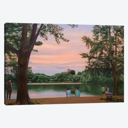 Prospect Park Lake Canvas Print #SVD60} by Nick Savides Canvas Artwork