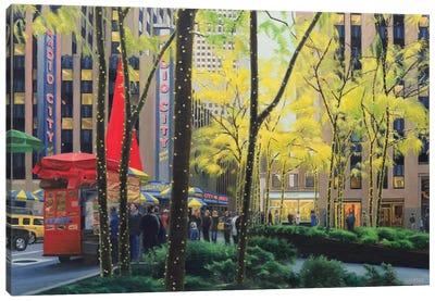 Radio City Canvas Art Print