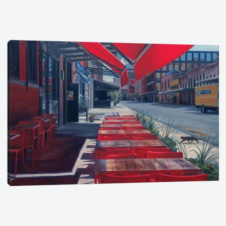 Red Canvas Print #SVD62} by Nick Savides Canvas Artwork