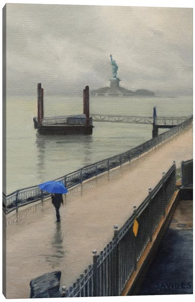 Red Hook – In The Rain Canvas Art Print