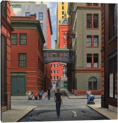 Staple Street – Looking North Canvas Art Print
