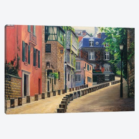 The Rose House Canvas Print #SVD77} by Nick Savides Canvas Wall Art