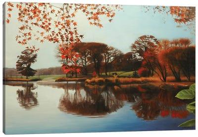 Autumn In Prospect Park Canvas Art Print