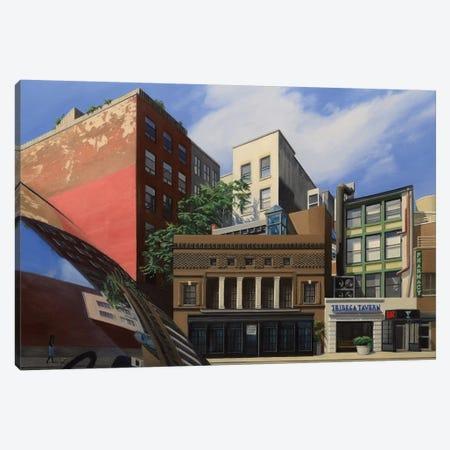 Tribeca Tavern Canvas Print #SVD82} by Nick Savides Canvas Art