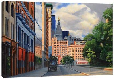 Union Square West Canvas Art Print