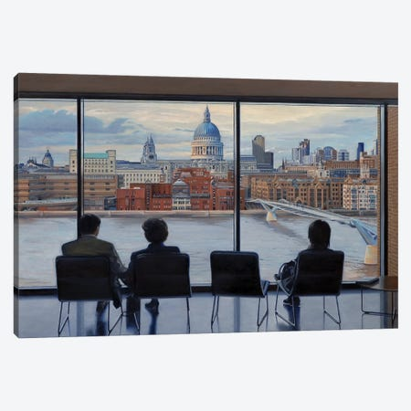 View From Tate Modern Canvas Print #SVD89} by Nick Savides Canvas Art