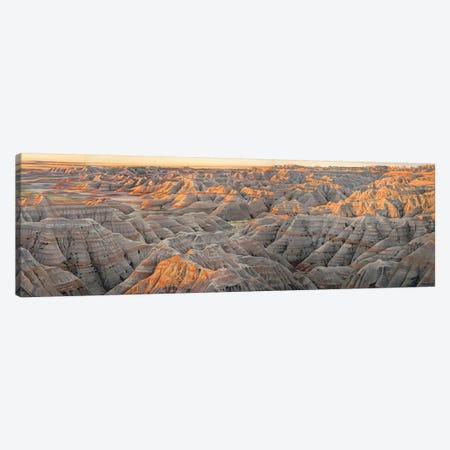 Badlands (The Wall) At Sunrise Canvas Print #SVD8} by Nick Savides Canvas Wall Art
