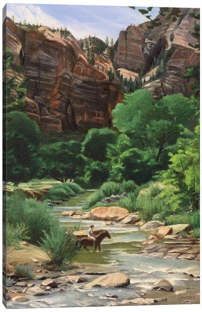 Virgin River – Zion Canvas Art Print