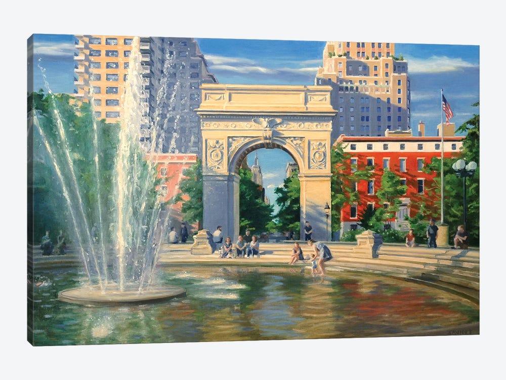 Washington Square by Nick Savides 1-piece Canvas Print