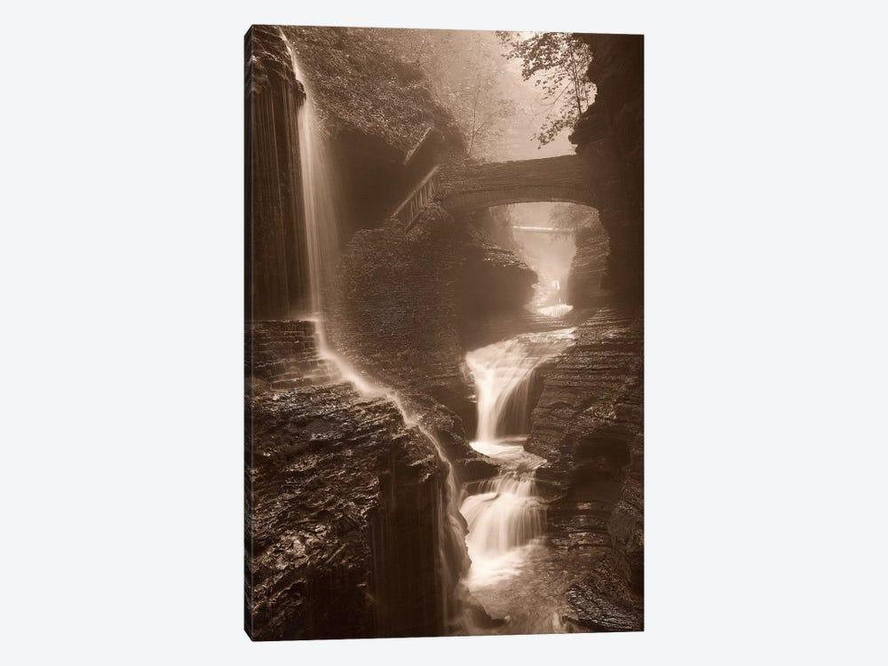 Waterfall On A Rainy Day by Igor Svibilsky 1-piece Canvas Print