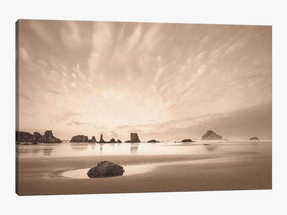 Morning On The Beach by Igor Svibilsky 1-piece Canvas Art Print