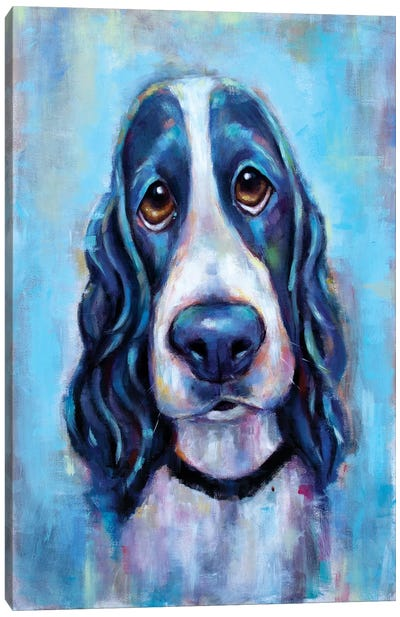 Puppy Eyes Canvas Art Print