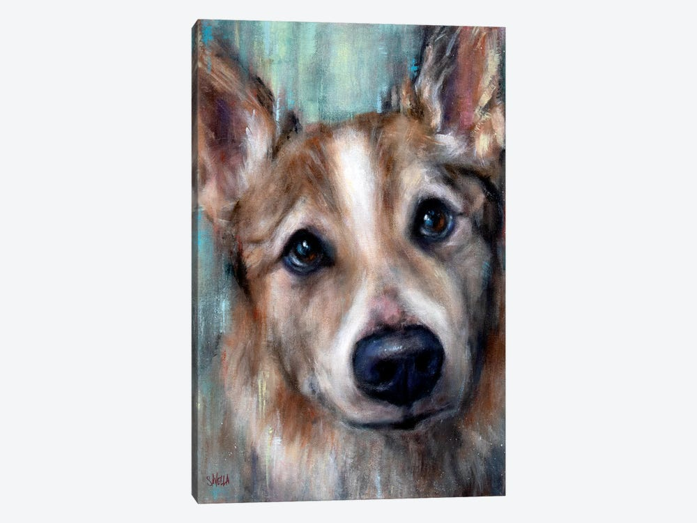 Ludo by Christine Savella 1-piece Canvas Artwork