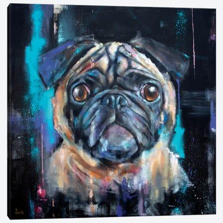 Cosmic Ernie Canvas Print #SVL3} by Christine Savella Canvas Wall Art